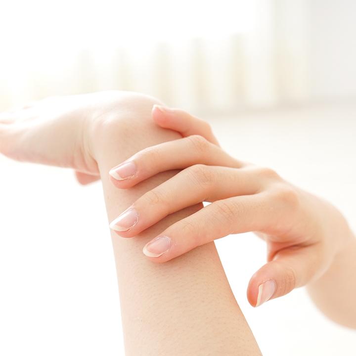 自分自身の皮膚の異常に早く気づく